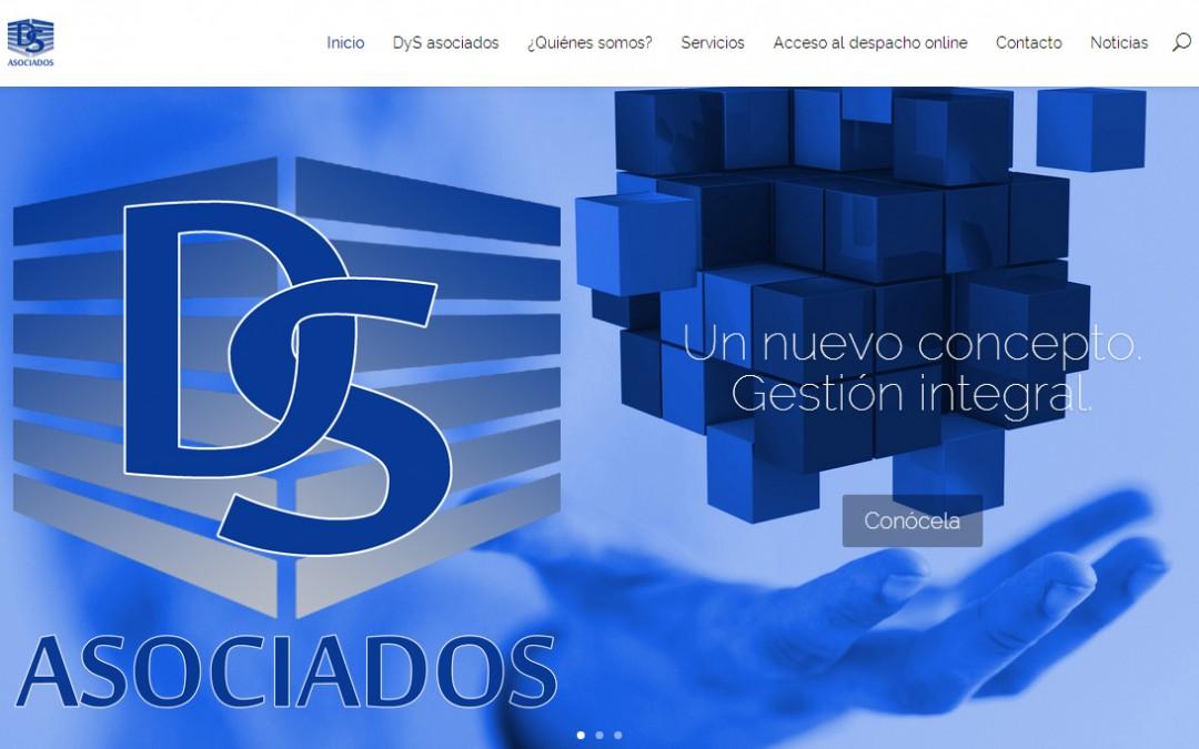 Nueva web de Delgado y Sánchez asociados